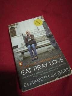 Eat. Pray. Love. by Elizabeth Gilbert (movie edition cover)