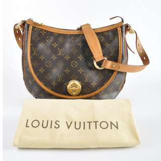 AUTHENTIC Louis Vuitton Monogram Canvas Tulum GM Bag