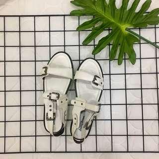 Something Borrowed Buckle Sandals