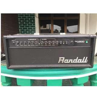 Randall RX120D amp head
