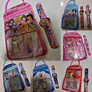 Children's Goodie Hangbag + Digital watch - Goodie Bag