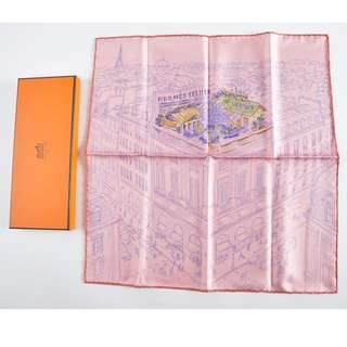 AUTHENTIC Hermes Silk Scarf  - 41 x 41cm