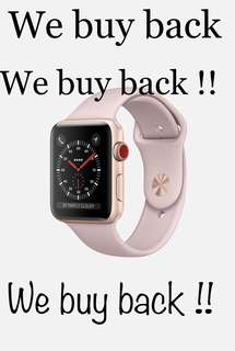 Apple Watch 38mm buying back from you