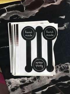 Handmade Long Stickers