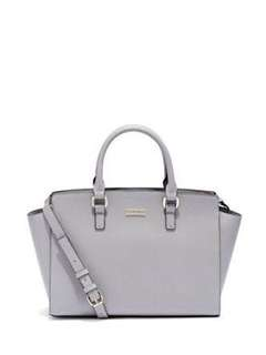 Newyork and company leather tote bag