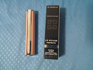 Givenchy le rouge perfecto 01 perfect pink lipstick