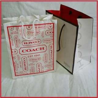 ⚜️ Coach Authentic Paper Bag