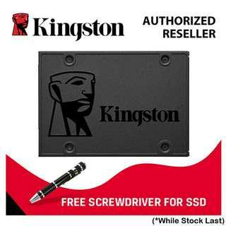 """Kingston A400 120GB/ 240GB/ 480GB SSD SATA 2.5"""""""