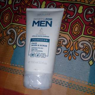 Face Wash Scrub Men Oriflame