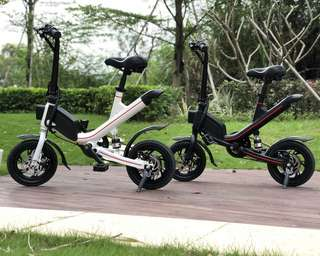 [Pre-Order] Latest Design Foldable Electric Bike with Pedal