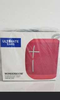 BNIB Ue wonderboom bluetooth speaker