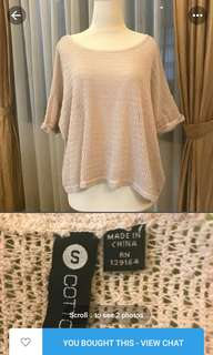 [New] Cotton On Knit Top