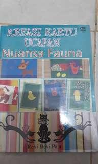 Buku kreasi flora fauna