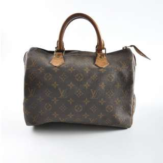 AUTHENTIC Louis Vuitton Speedy 30 Monogram (Seasoned Condition)