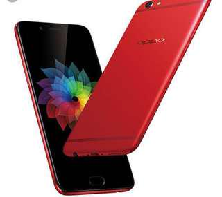 OPPO R9 plus RED (Very Good Condition)