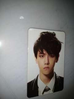 BaekHyun EXO Potrait Card