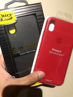 BULK PROMO - iPhone X Silicone Case & Otterbox Symmetry
