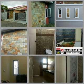 Rumah baru 7 x 24 makassar