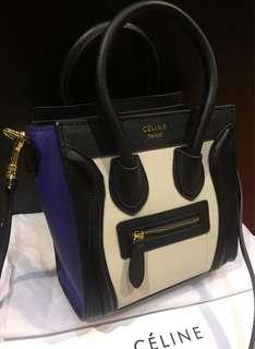 Celine Luggage Nano Bag