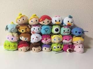Disney Tsum Tsum 迪士尼 toy story 反斗奇兵 公主 史迪仔 愛麗絲 唐老鴨 frozen