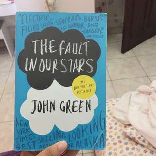 NOVEL IMPORT - the fault in our stars