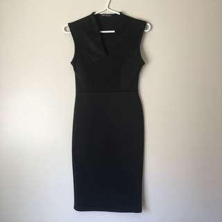 EUC Impress Black Dress