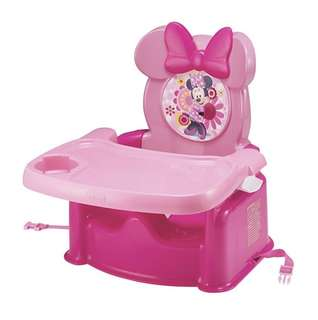 BN The First Years Disney Booster Seat, Minnie Mouse Pink