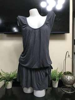 Calvin Klein Gray Cotton Dress