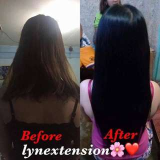 Human hair extension!😘 (Home service)