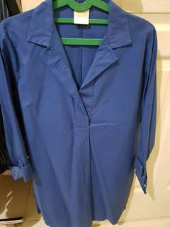 Dress Biru Magnolia