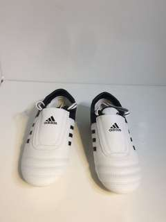 PO: Adidas female taekwondo shoes white black