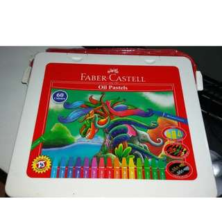 Crayon Faber-Castell Oil Pastels isi 60