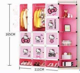 Hello Kitty DIY Cabinet