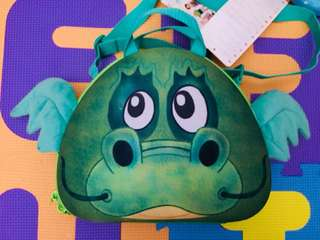 Green Baby Dragon Bag BNWT