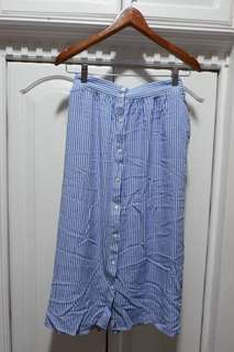 Forme Button-down Skirt
