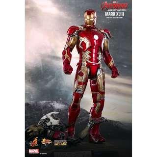 Hot Toys Iron Man MARK XLIII (AVENGERS: AGE OF ULTRON) [Diecast]