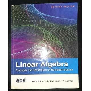 MA1101R Linear Algebra