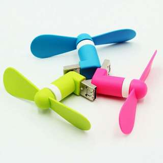 [LARGE DISCOUNT] Portable Mini USB Fan, For Samsung And Iphone And Computer, Phone Fan, Beautiful Minimalistic Design, Ready Local Stock, BEST PRICE OFFERED