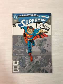 Brand new, DC comics The Adventures of Superman, Believe comic book