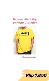 Thrasher Mag Flame Yellow T-Shirt