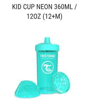Now Available - Twistshake Kid Cup 360ml 12oz (12+M)