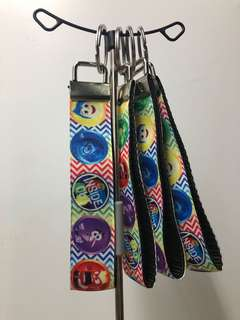 Inside Out Wristlet Key Fob