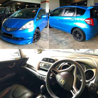 Sporty Honda Fit 1.3A For Rental