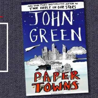 BRAND NEW Paper Towns by John Green Young Adult Book