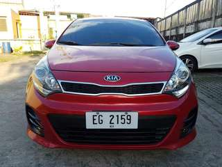 Kia Rio Hatchback 1.4L 5door 2016 Automatic Signal Red Top of the Line