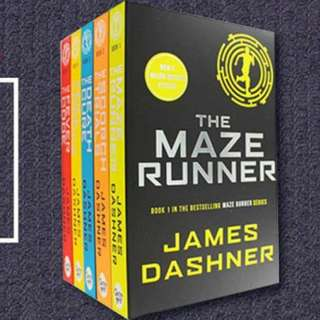 BRAND NEW The Maze Runner by James Dashner Book Set