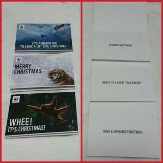 🌟🌲 BN WWF Christmas Card