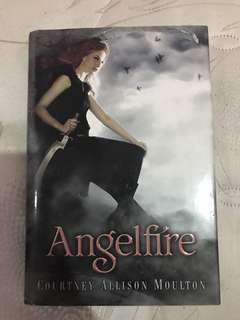ANGELFIRE HARD BOUND BOOK