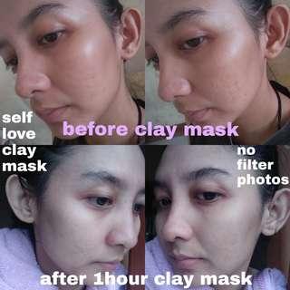 SELF LOVE - Brightening Homemade Clay Mask