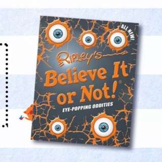 BRAND NEW Ripley's Believe It Or Not Book of Oddities